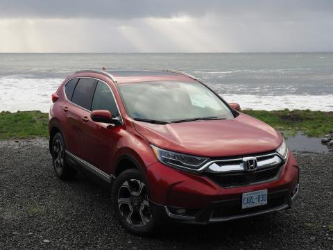 Honda CR-V rings in 2017 with new fifth-generation model