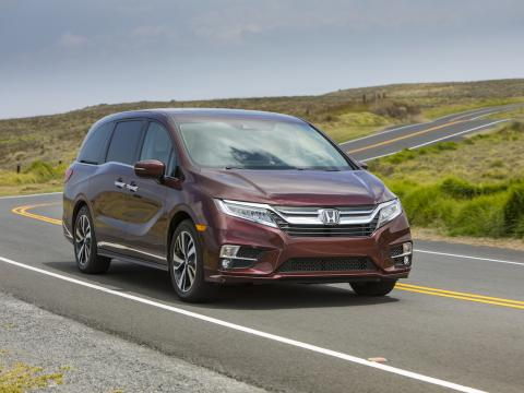 Redesigned 2018 Honda Odyssey Openroad