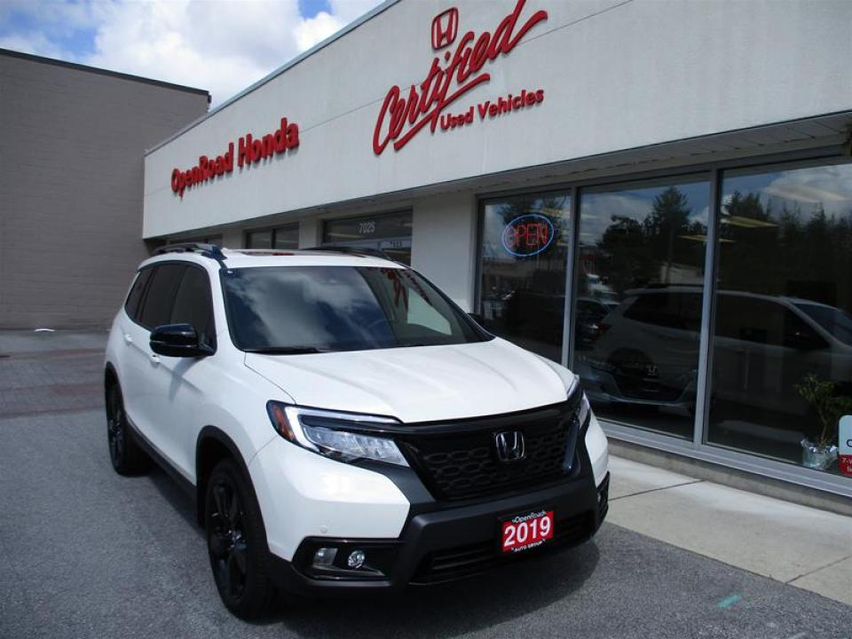 Open Road Honda Burnaby >> Used 2019 Honda Passport Touring In Vancouver Openroad