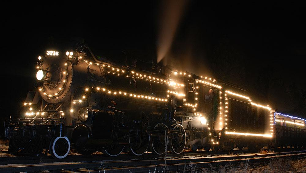 kettle valley christmas express train