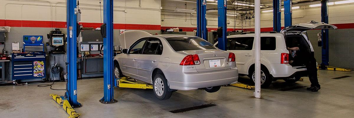 Service and Parts at OpenRoad Honda