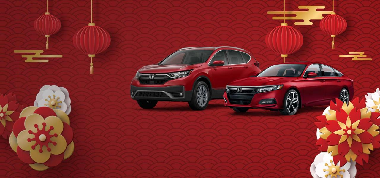 2020 Lunar New Year Sales Event at OpenRoad Honda Burnaby