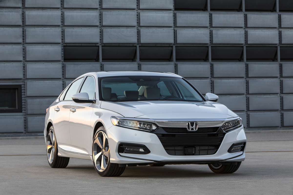 2018 Honda Accord front fascia