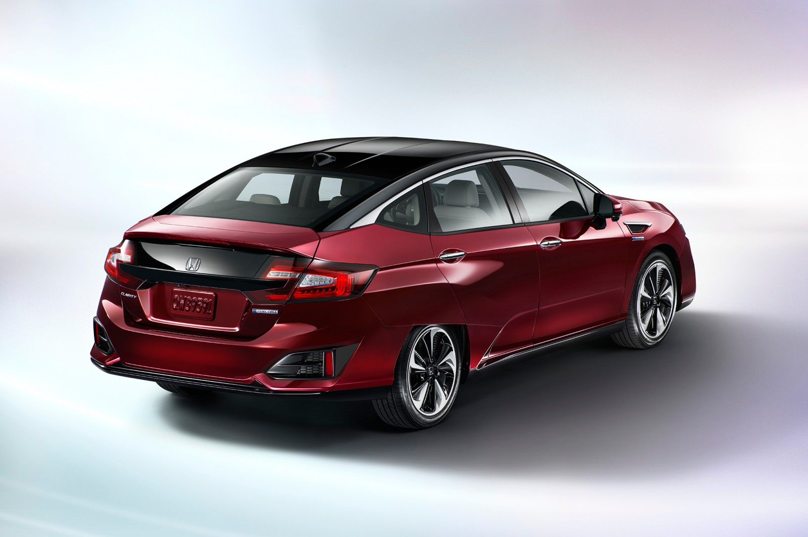 2017 Honda Clarity rear
